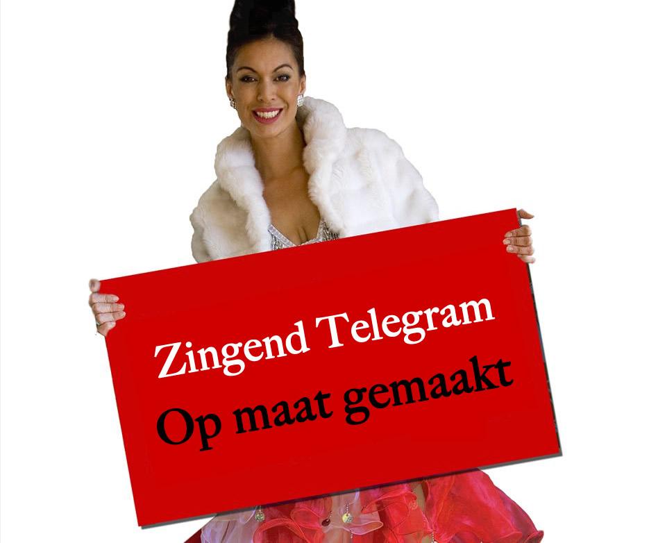 Zingend Telegram op maat
